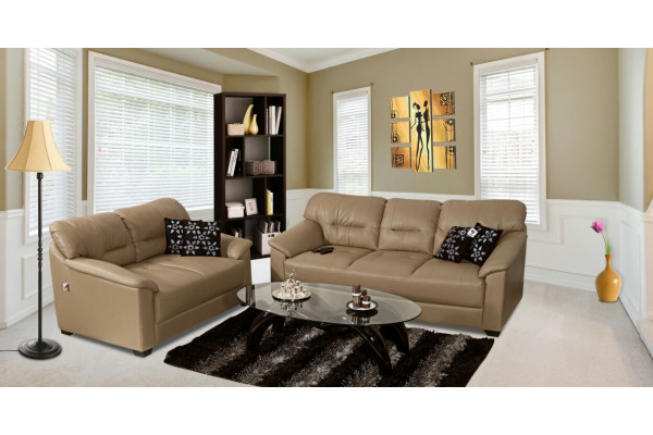 Mirly Sofa Light Brown