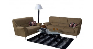 Piper Sofa Set (Brown)