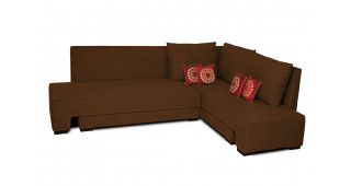 Rome L Shape Sofa Cum Bed