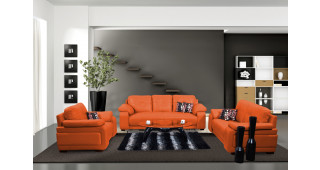 Gloria Sofa Orange