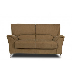 Piper Two Seater Sofa (Brown)