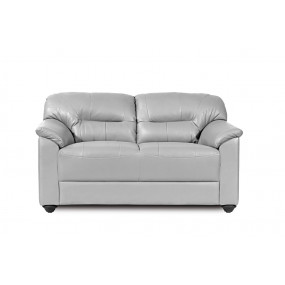 Mirly Two Seater Sofa Silver