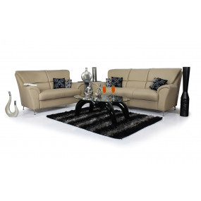 Piper 3+2 Sofa Set (Beige)
