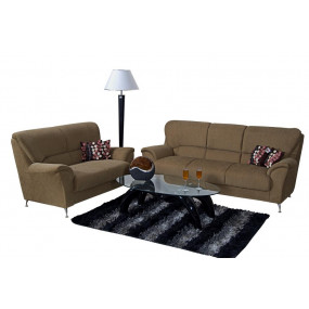 Piper 3+2 Sofa Set (Brown)