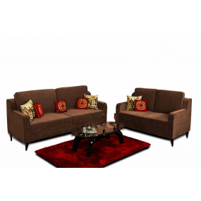 Beacon 3+2 Sofa Set Brown